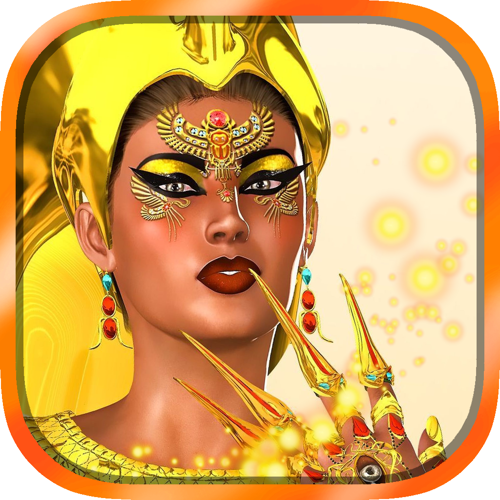 Ancient Egyptian Pharaoh Queen's Jewels Slots - Vegas Style Casino Slot Machine Game